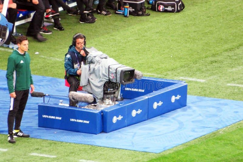 Video di calcio immagini stock libere da diritti