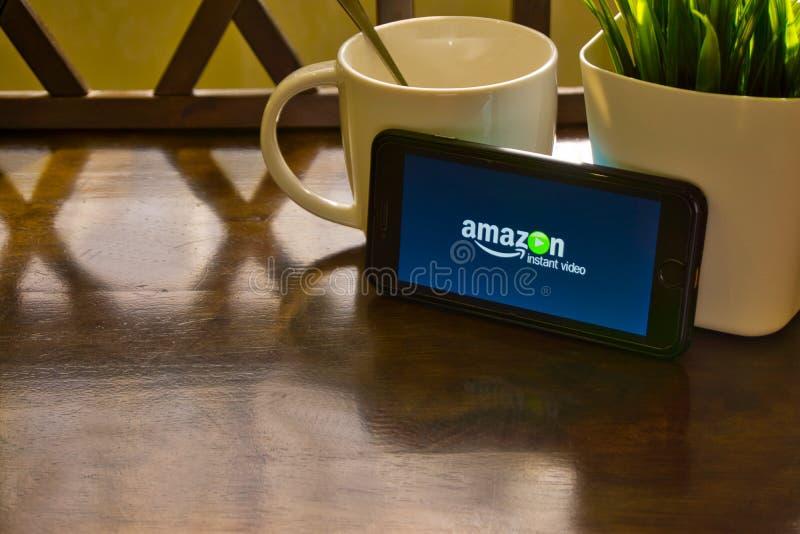 Video di istante di Amazon immagini stock libere da diritti