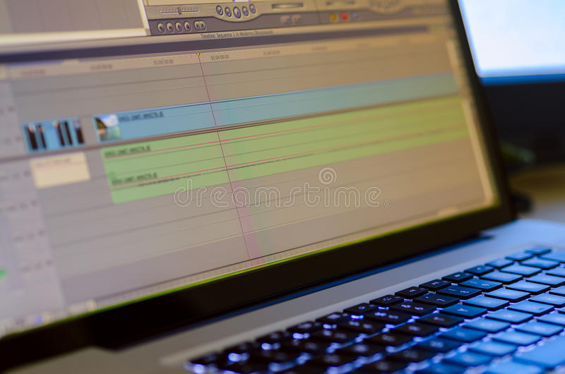 Download Video Editing Equipment Stock Image - Image: 32261771