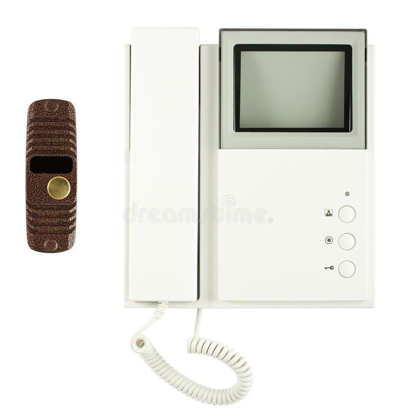 video för extern intercom för utrustning intern royaltyfri foto