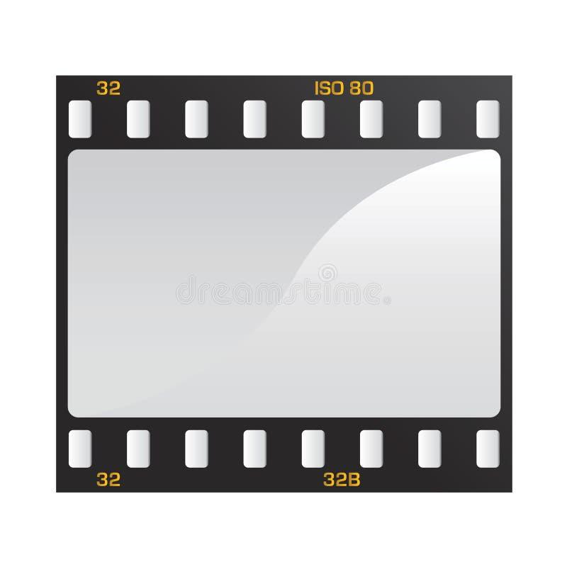 video för filmfotovektor royaltyfri illustrationer