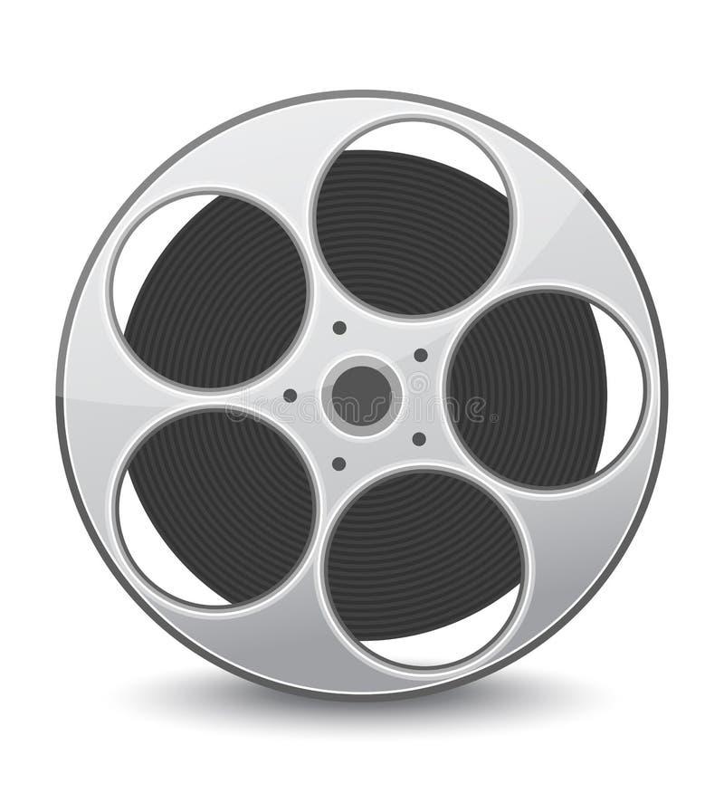 video för vektor för band för diskettfilmillustration stock illustrationer