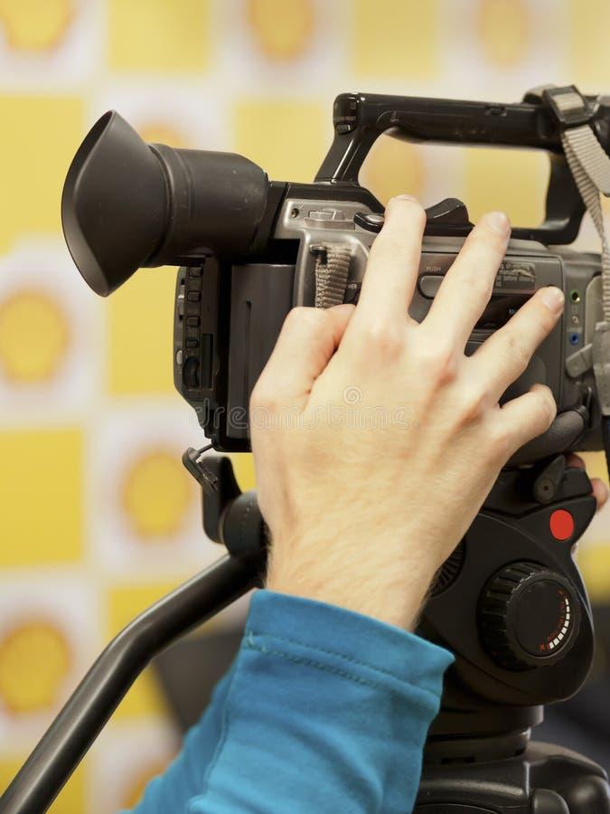 video för vektor för kameraillustration realistisk royaltyfri foto