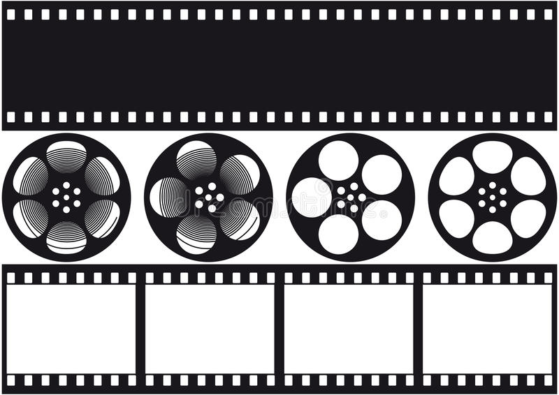 Video film vector illustratie