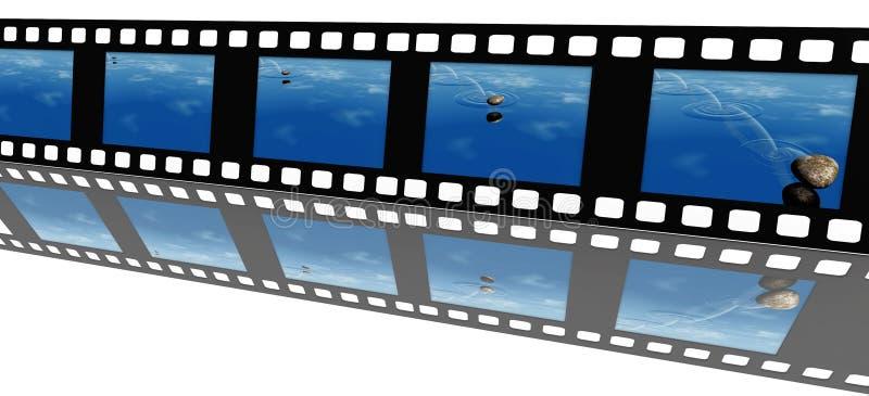 Video film royalty free illustration