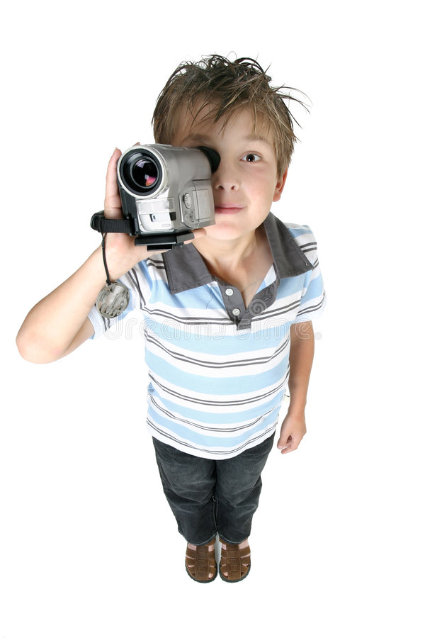 Video films en beelden, gemakkelijk en pret stock foto's