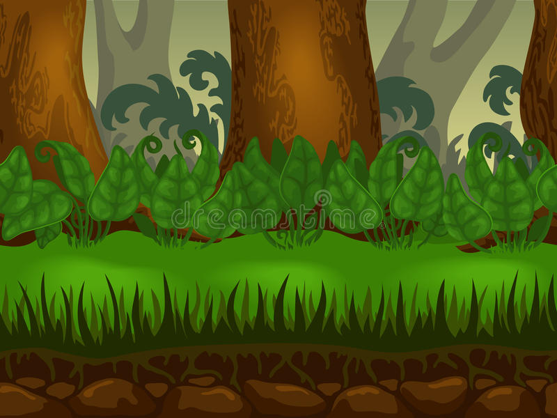 Video game background vector illustration