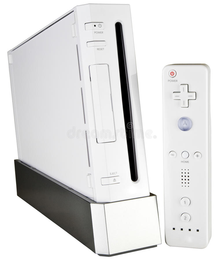 Free Video Game Console And Hand Controller Stock Photos - 11842343