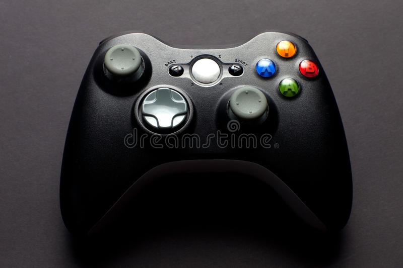 Download Video game controller editorial image. Image of entertainment - 17764480