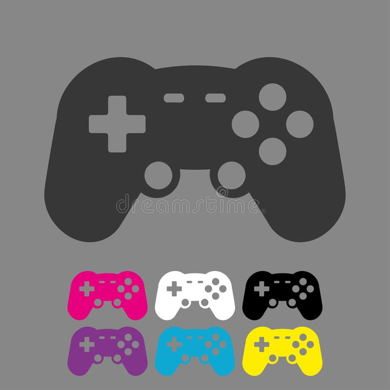 Free Video Game Controller Icon Vector Eps10. Joystick,  Game Play Icon. Joystick Or Controller Sign. Stock Photos - 145066883