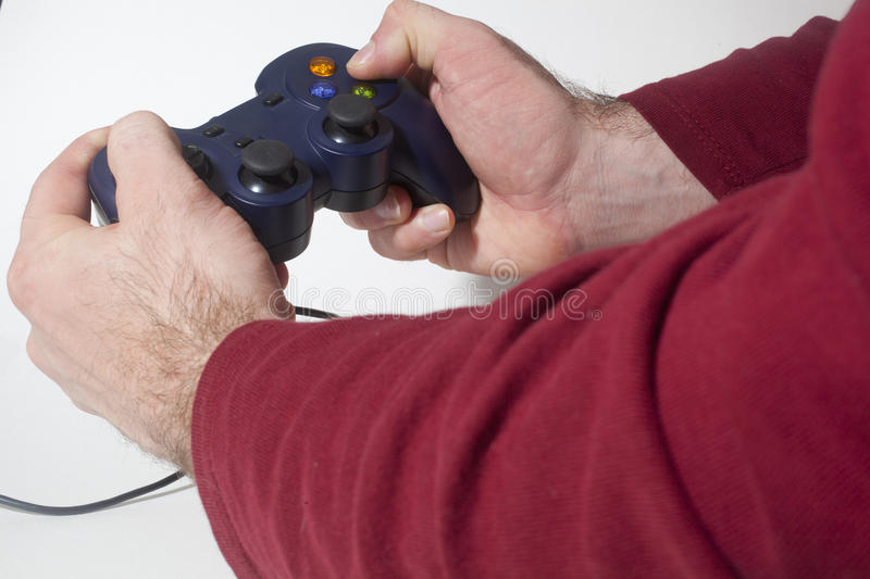 Download Video Game Controller stock image. Image of finger, gaming - 36825553