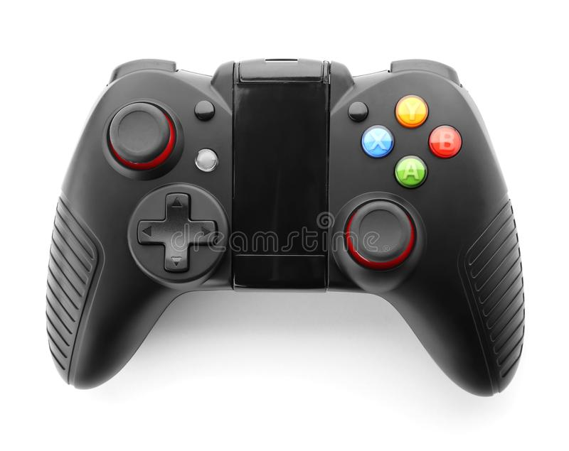 Video game controller royalty free stock photo
