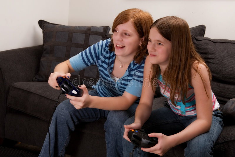 Download Video Game Fun stock image. Image of playing, compete - 3366873