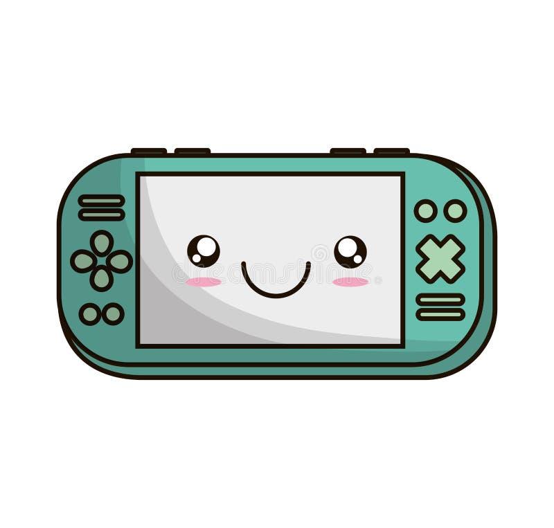 Video game portable device. Vector illustration design royalty free illustration