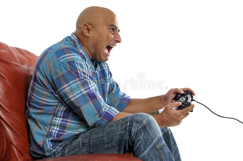 Download Video games stock image. Image of home, relaxing, male - 28032141