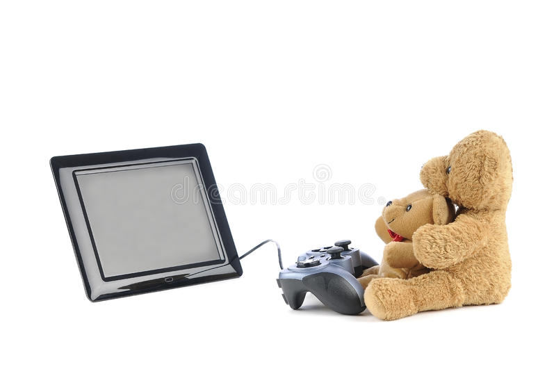 Download Video games stock image. Image of hand, game, bears, hardware - 28929993