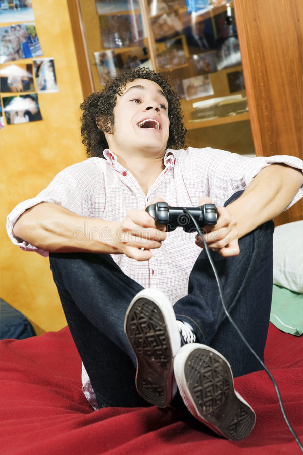Download Video games stock image. Image of excitement, happiness - 3788385