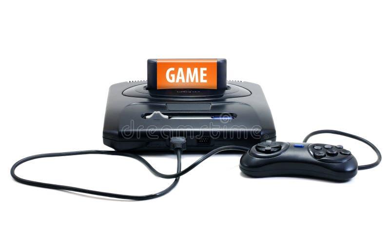 Video gioco antiquato fotografie stock libere da diritti