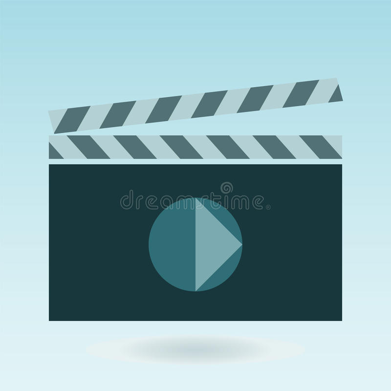 Video icon cinema sign royalty free illustration
