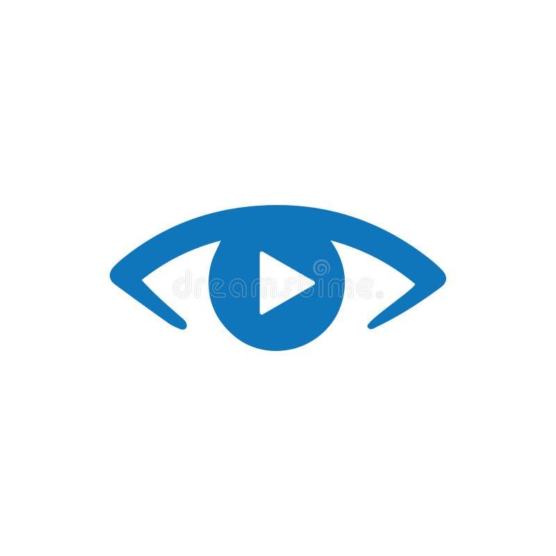Video icona di sorveglianza illustrazione vettoriale