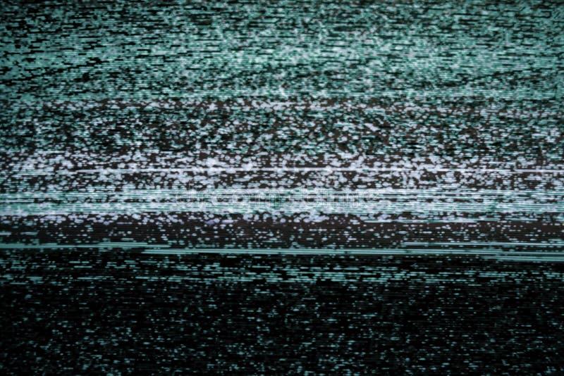 Video impulso errato statico d'annata immagini stock