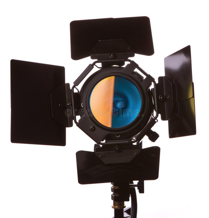 Video lichte apparatuur stock afbeelding