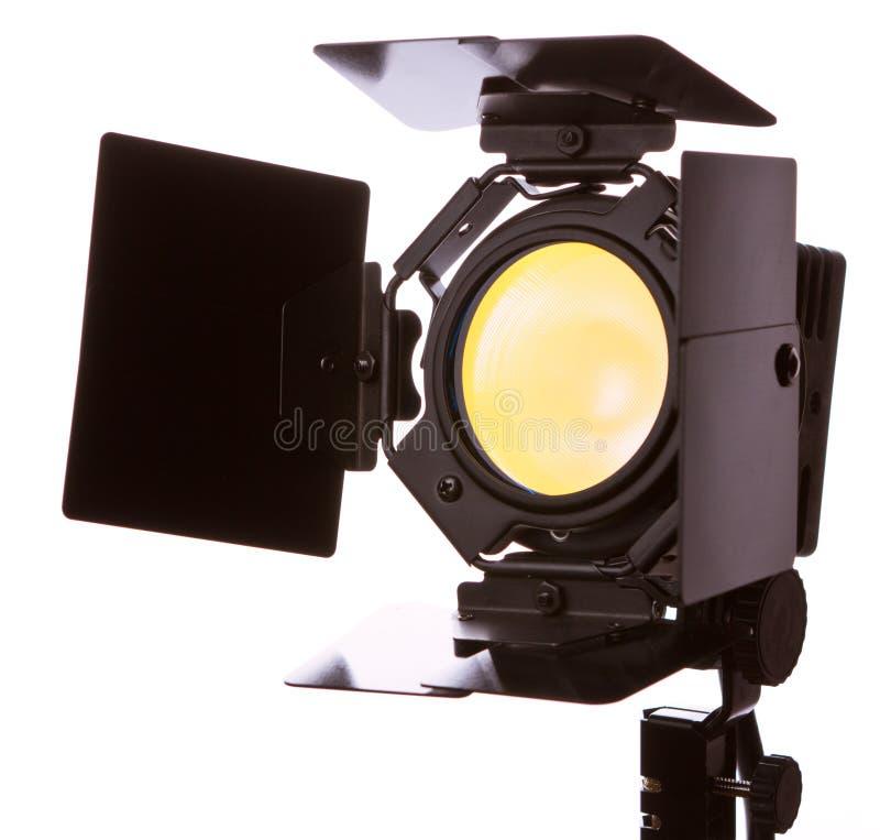 Video lichte apparatuur stock fotografie