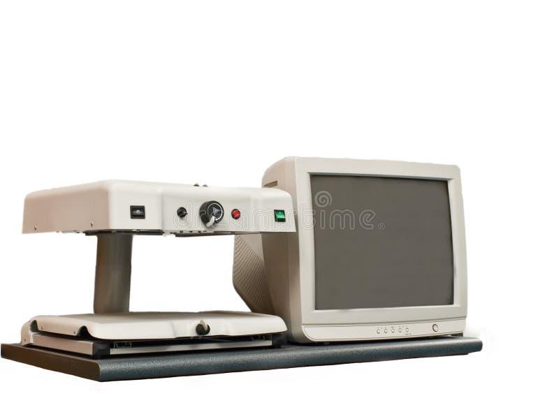 Video magnifier fotografia stock