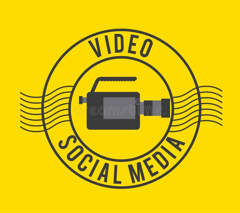 video marketing design vector illustration
