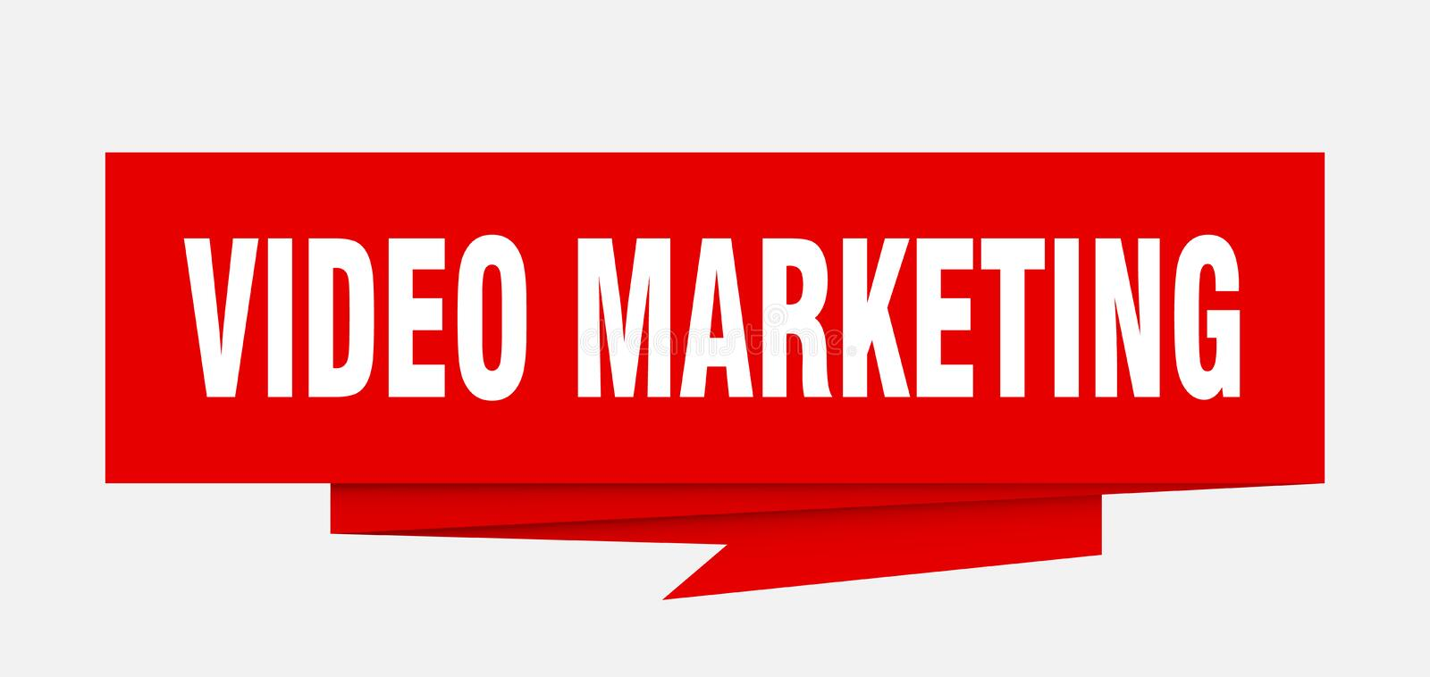 video marketing royalty free illustration