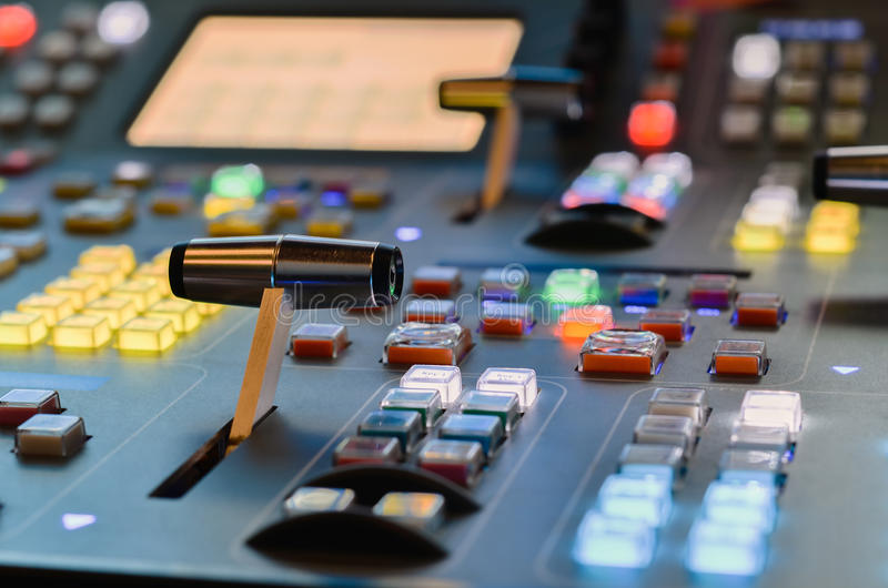 Video mixer stock images