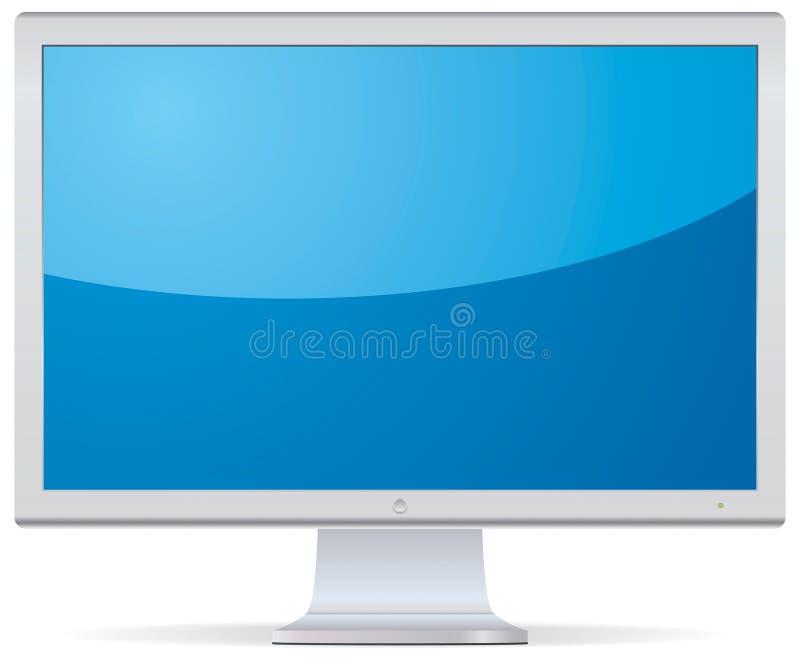 Video o illustrazione di vettore della TV illustrazione di stock