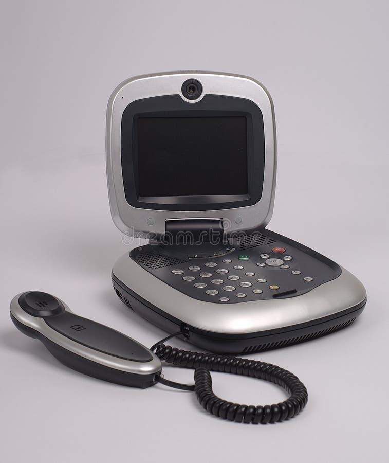 Video phone royalty free stock photo