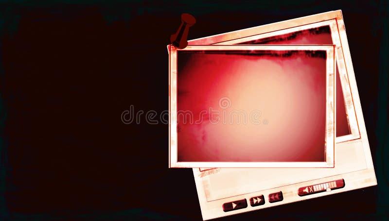Video-Player lizenzfreie abbildung