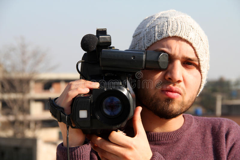 Video Production stock image