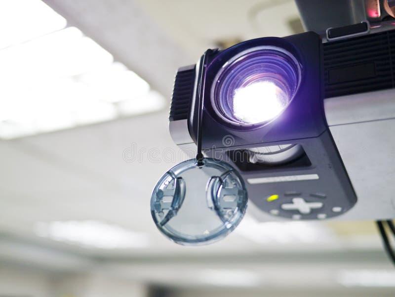 Video projektor royaltyfria foton