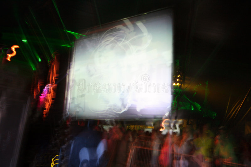 Download Video screens stock image. Image of bars, trails, festival - 887885