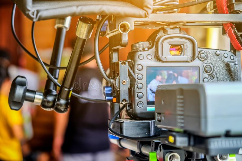 Video shoot professional. Detail image of video shoot professional royalty free stock images