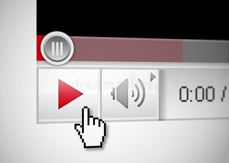 Video speler vector illustratie