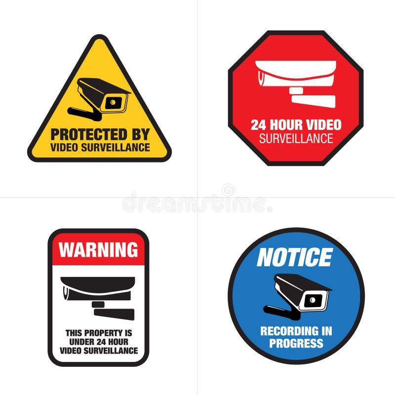 image regarding Video Surveillance Sign Printable named Online video Surveillance Symptoms Inventory Examples 281 Online video