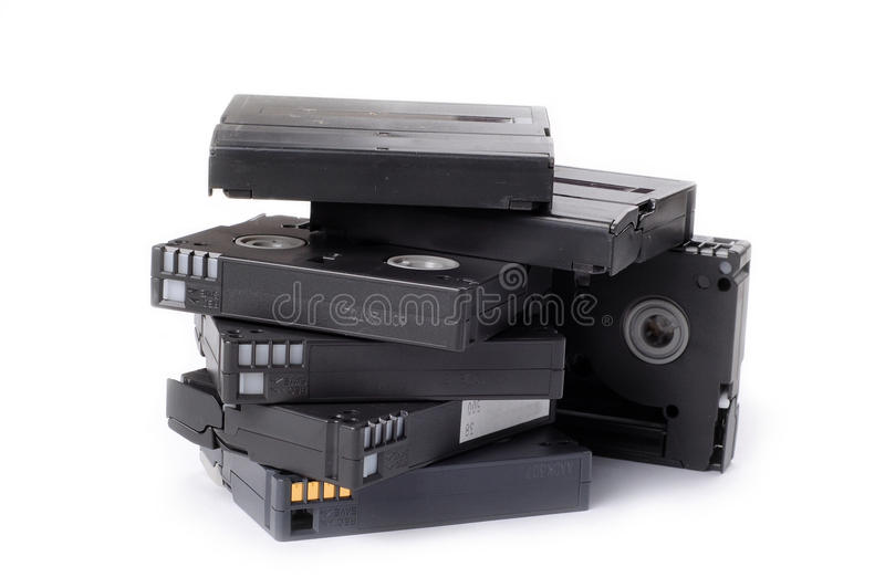Download VIDEO TAPES stock image. Image of videocam, roll, movie - 9687717