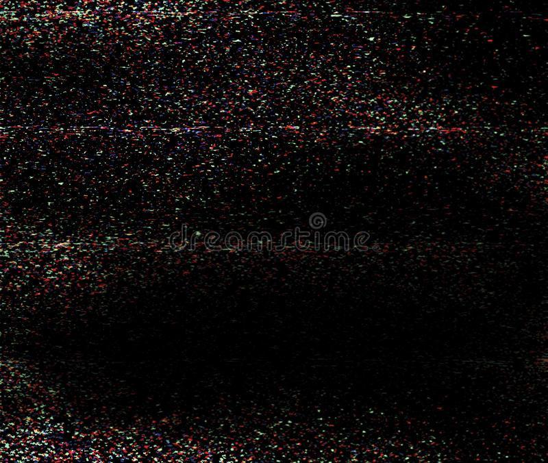 Video tekniskt felbakgrund arkivfoton