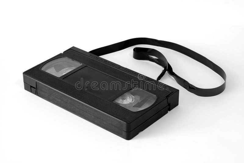 Video vassoio. fotografia stock libera da diritti