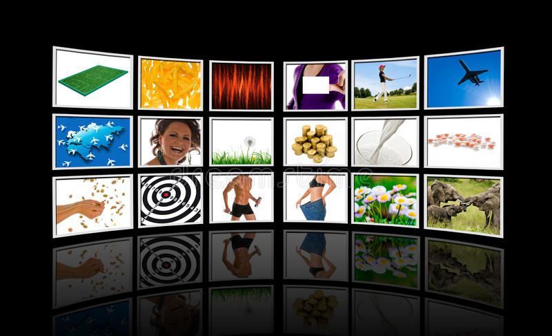 Video wall stock photos