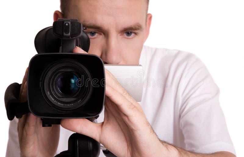 Videocámara fotos de archivo libres de regalías