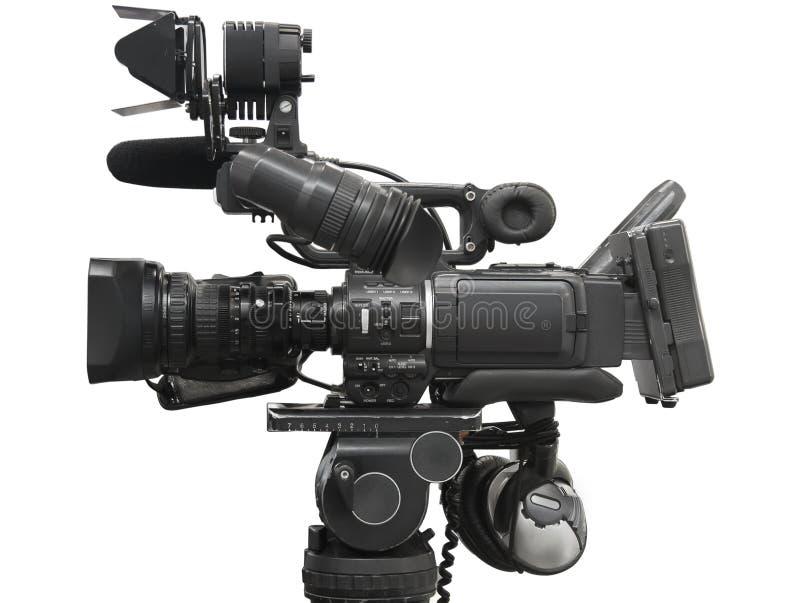 Videocámera profesional fotografía de archivo libre de regalías