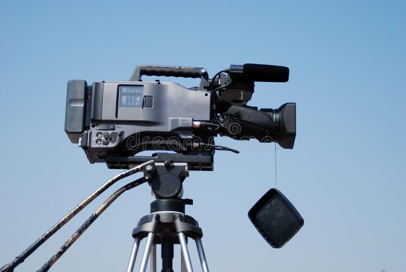Videocam de la TV fotografía de archivo libre de regalías