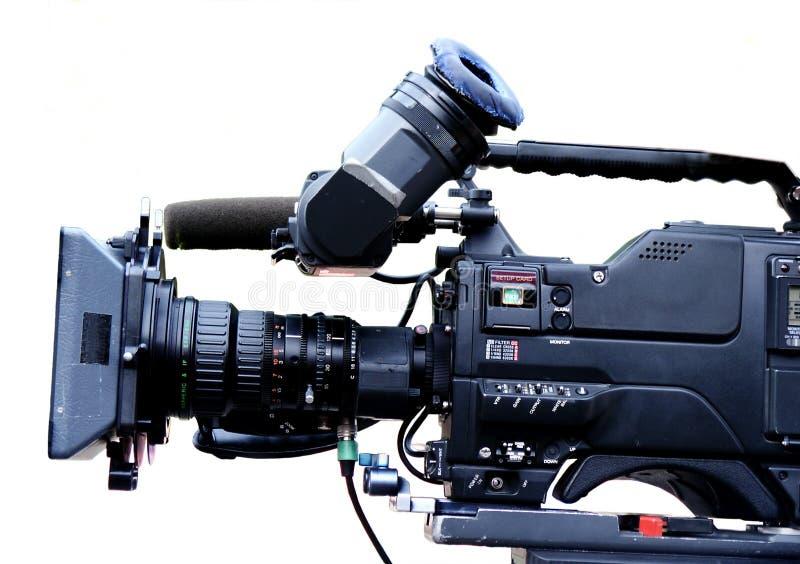 Videocam della TV fotografia stock libera da diritti