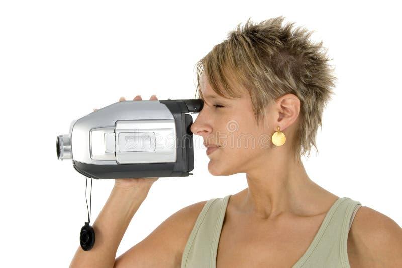 Videocamera royalty-vrije stock afbeelding