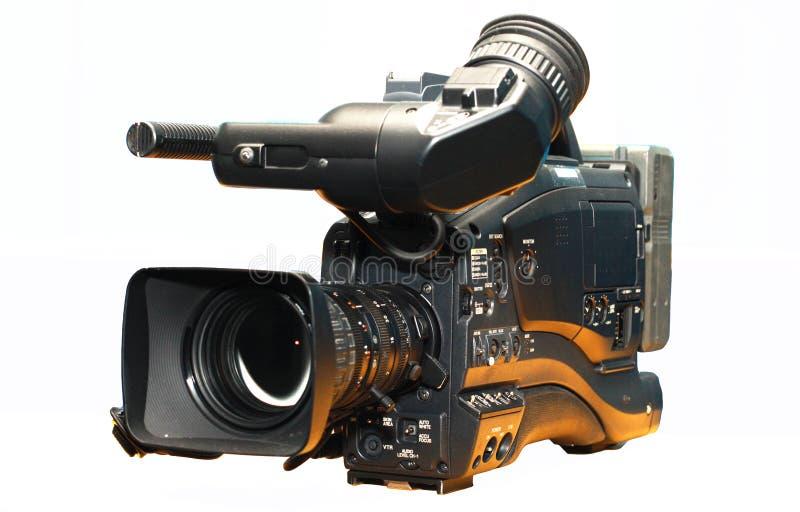Videocamera digitale professionale immagini stock libere da diritti